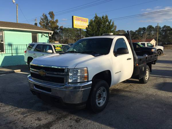 Photo 2014 CHEVY SILVERADO 2500 HD REGULAR CAB UTILITY 839 FLATBED TRUCK - $11595 (CORPORATE WHOLESALE)