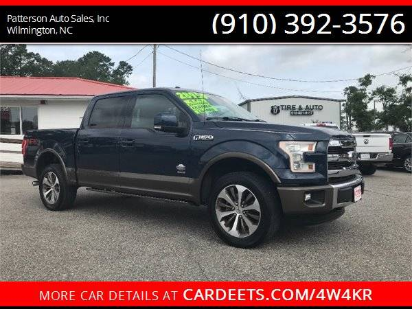 Photo 2015 FORD F150 SUPERCREW KING RANCH FX4 - $28950 (Wilmington)