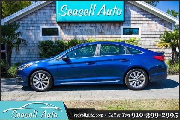 Photo 2015 Hyundai Sonata - Call 910-399-2995 - $11770 (2015 Hyundai Sonata Seasell Auto)