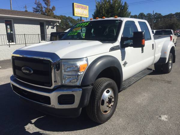 Photo 2016 FORD F350 SUPERDUTY SUPERCREW CAB 4 DOOR 4X4 6.7 DIESEL DUALLY - $29,995 (CORPORATE WHOLESALE)