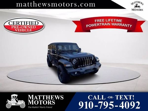 Photo 2018 Jeep All-New Wrangler Unlimited Sport S (Jeep All-New Wrangler Unlimited SUV)