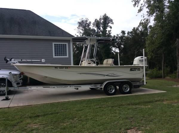 Photo 2019 Carolina Skiff 2380 DLV - $39,600 (Hstead,NC)