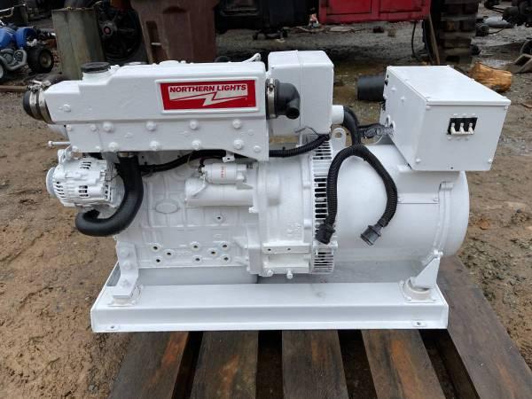 Photo 20kW Marine Diesel Generator, Northern Lights M844LW2 60 Hz - $5,550 (Graham, NC)