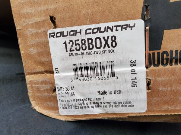 Photo 4 inch Rough Country Susp. Lift for 1999-2006 Silverado 1500 4x4 - $500 (Rocky Pointe)