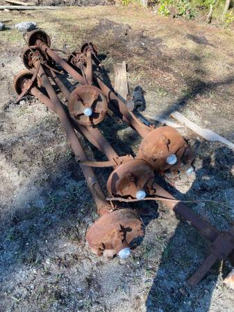 Photo 6- Mobile Home Axles 9ft Wide 5-Lug - $400 (Wallace NC)