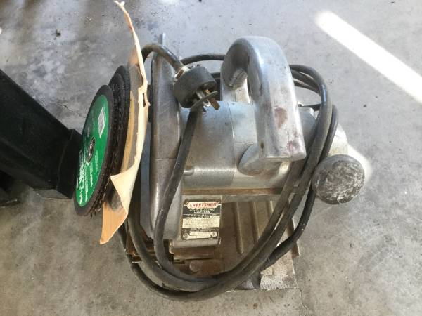 Photo Circular saw - $20 (Carolina Beach)