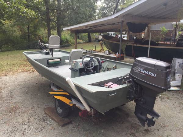 Photo Jon boat John boat weld craft - $5500 (Wilmington)