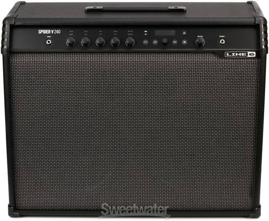 Photo Line 6 Spider V 240 guitar bass Amp Amplifier - $320 (Wilmington)