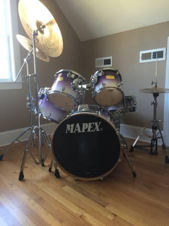 Photo Mapex Pro M Series drum set - $800 (Wrightsville Beach)