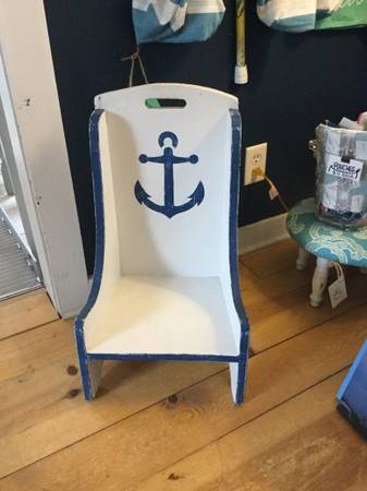 Photo Nautical Kids Time Out Chair - $45 (Wilmington)