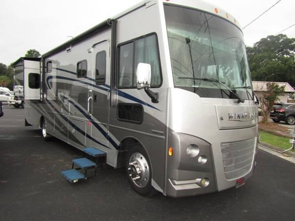 Photo Pre-Owned 2017 Winnebago Vista LX 35F Class A Motor Home - $106,304 (Rex and Sons RVs)