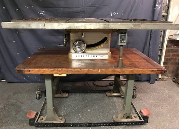Photo Vintage Craftsman 10quot Table Saw - $400 (Wilmington - Monkey Junction)