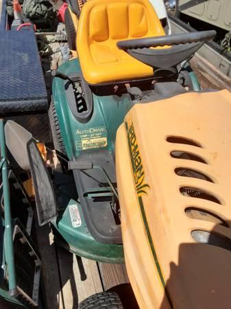 Photo Yardman Riding Mower - $350 (Wilmington NC)