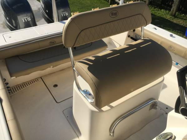 Photo Key West 23CC, Twin Yamaha 4strokes, New cushions, Low Hours  - $39,500 (Wilmington)