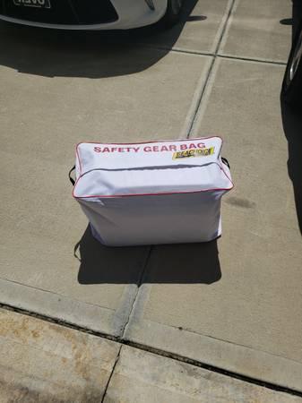 Photo boat safety gear - $65 (Leland)