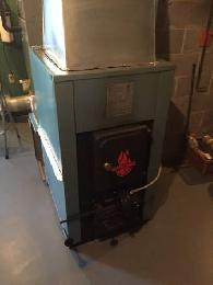 Woodchuck 2900 Wood Coal Furnace Stove 1650 Saegertown