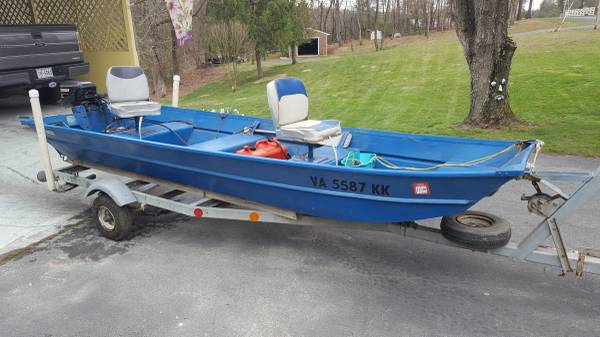 Photo 1439 Sea King Aluminum Boat - $1500 (WINCHESTER)