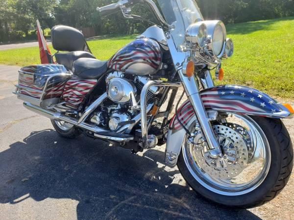 Photo 2000 Harley Davidson Road King Marine Corps POW - $8,500 (Haymarket - Manassas)