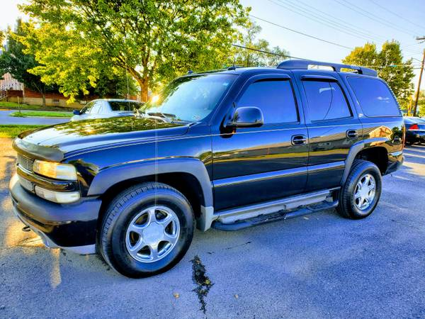 Photo 2003 CHEVY TAHOE Z71 4X4 1-OWNER   FREE 3 MONTH WARRANTY - $4,990 (ROYAL PIKE MOTORS)