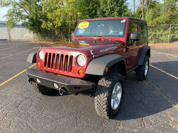 Photo 2009 JEEP WRANGLER RUBICON 4X4 REMOVABLE TOP NEW MUD TIRES BTUSBAUX - $12999 (Winchester, Virginia)