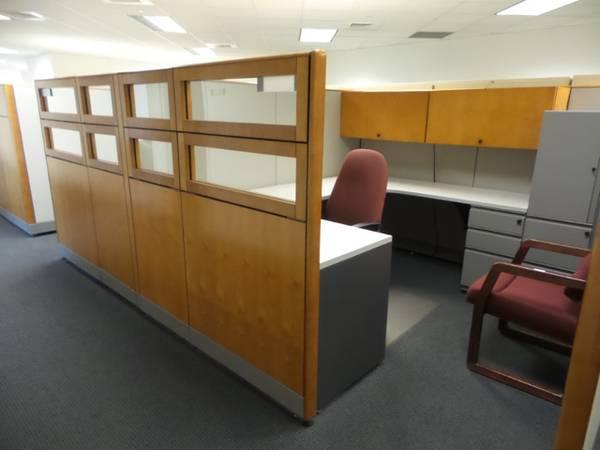 Photo (2) MODULAR WORK STATIONS KIMBALL - $3,980 (NEW MARKET VA)