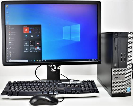 Photo Complete Dell OptiPlex 3020 SFF Computer System Windows 10 - Redytech - $109 (Gaithersburg)