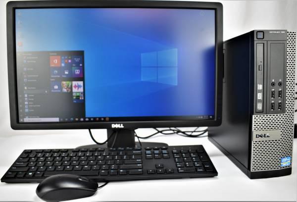 Photo Complete Dell OptiPlex 790 SFF Computer System Windows 10 - Redytech - $139 (Gaithersburg)