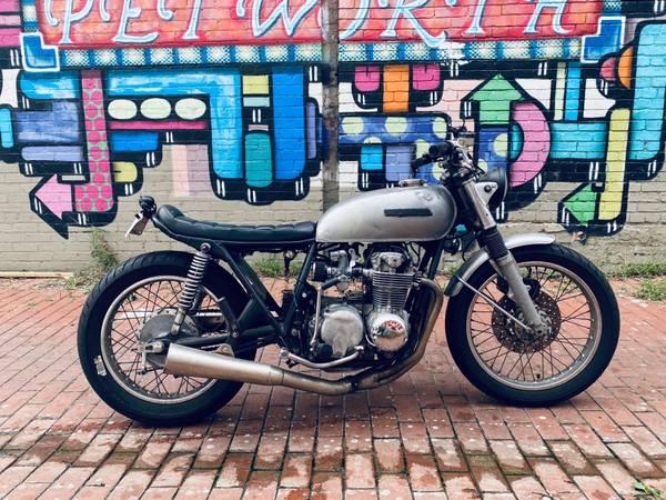 Photo Custom Brat Cafe Honda CB550 for sale. - $3,500 (Washington, DC)