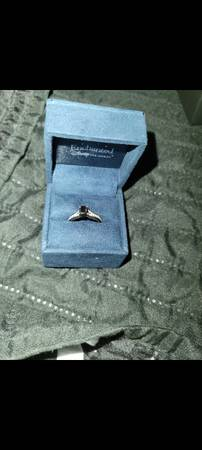 Photo Enchanted Disney Villains 1 CT Black And White Diamond Engagement Ring - $950 (Winchester)