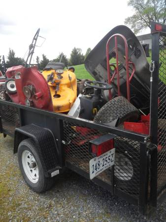 Photo Free pick up of brokenunwanted riding or push mowers atv39s and metal (Winchester)
