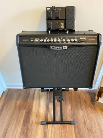 Photo Line 6 Spider IV 150 Watt Amp wFVB MKII pedal - $350 (Ridgeway)
