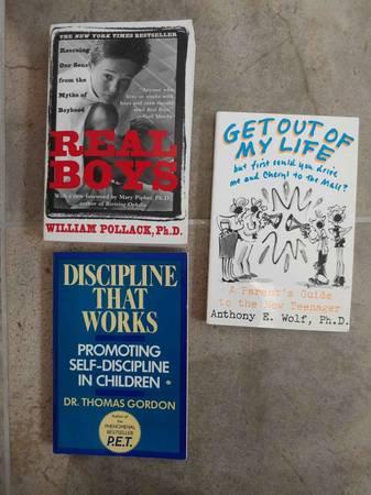 Photo Parenting Books (boys, teens, and discipline) -- ALL Brand NEW - $2 (Falls Church)