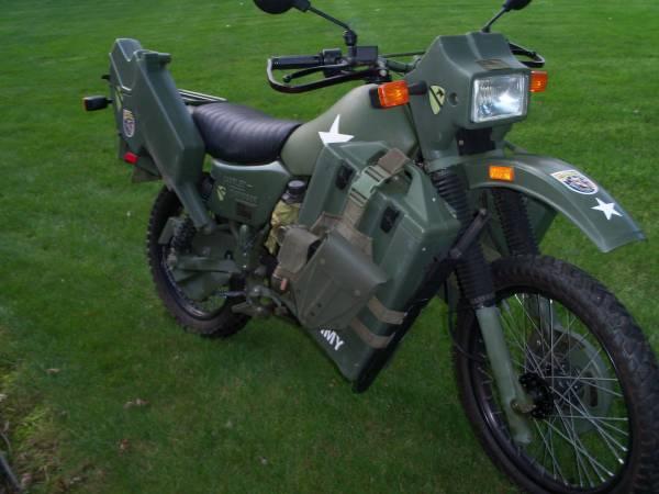 Photo Rare 1999 Harley Davidson MT500 Military Motorcycle , LK - $8,750 (York, PA)
