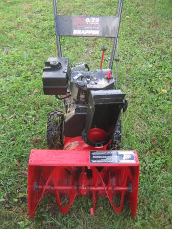 Photo Snow Blower-Snapper two stage Runs good - $435 (WINCHESTER)