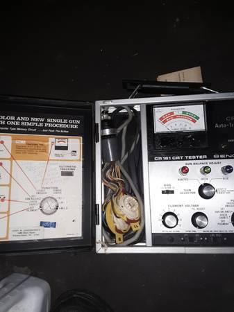 Photo 161 TUBE Checker Sencore - $60 (Winston Salem)