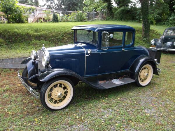 Photo 1930 Ford Model A Deluxe Coupe - $10500 (Mount Airy)