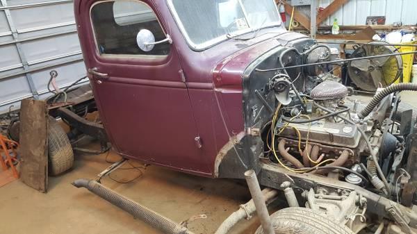 Photo 1939-1946 chevy truck frame rat rod - $1200 (lexington nc)