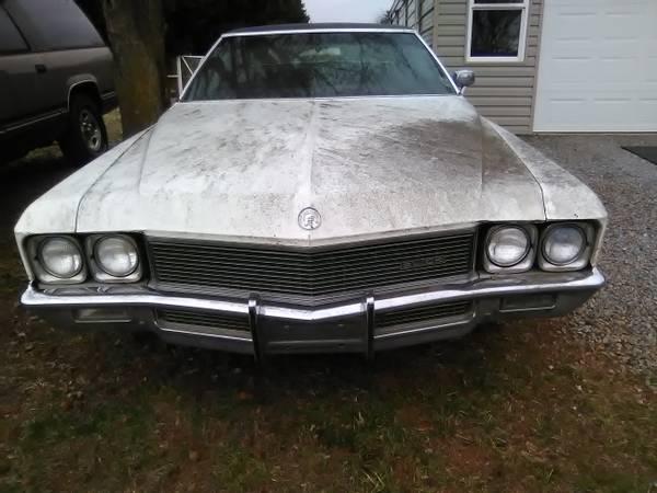 Photo 1971 buick centurion 2dr ht 455 turbo 400 - $5000 (Jonesville nc 28642)