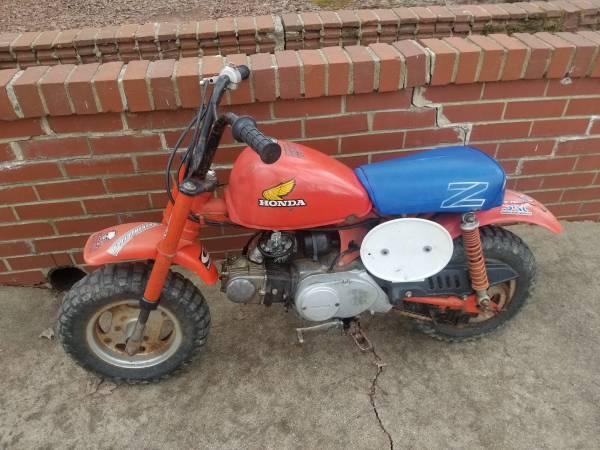 Photo 1984 Honda Z50 - $700
