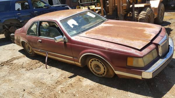 Photo 1985 lincoln mark vII (Lexington)