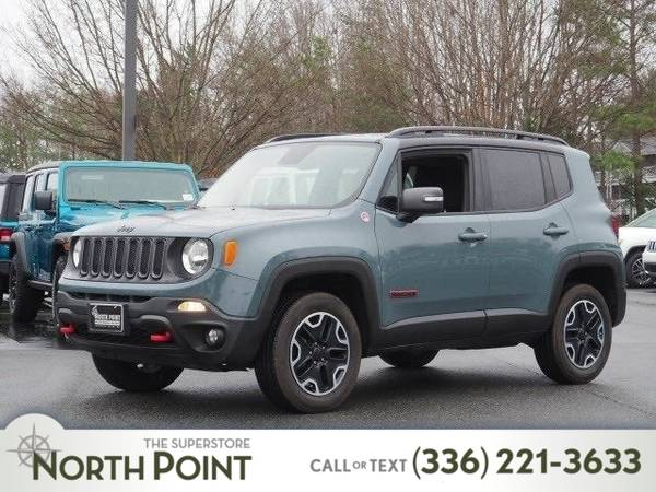 Photo 2016 Jeep Renegade 4WD 4dr Trailhawk - $18999 (_Jeep_ _Renegade_ _SUV_)