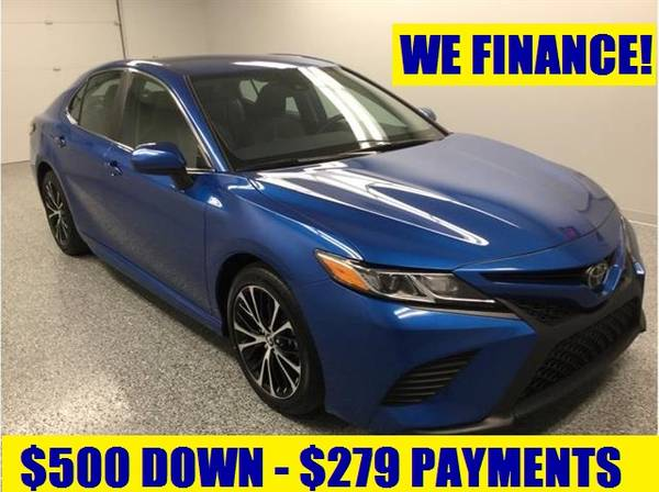 Photo 2019 TOYOTA CAMRY SE w WARRANTY - $279 (BUY HERE PAY HERE FINANCE w CREDIT REPORTING)