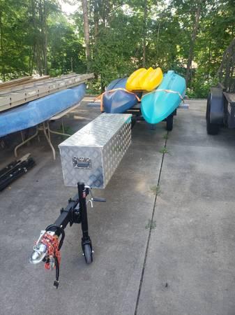 Photo 2 Lifetime KayaksNew Dual Trailer2 New Honda Outboards - $2,000 (King)