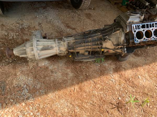 Photo 6.4 Ford Diesel engine ,transmission and transfer case - $900 (Winston Salem)