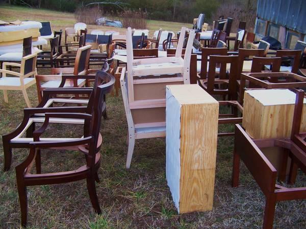 Photo ATTN Furniture Makers CHAIR FRAMES Ottomans Tables Plywood Foam - $375 (Lexington NC)