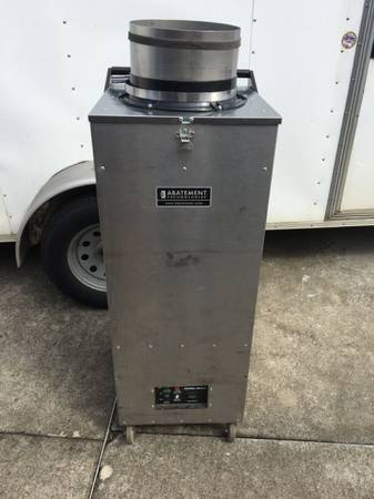 Photo Abatement Technologies H2200 negative air duct cleaning equipment - $2350 (Walkertown)