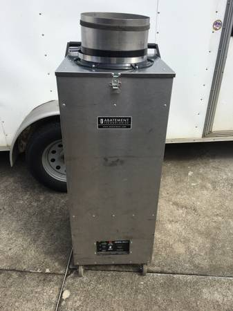 Photo Abatement Technologies H2200 negative air duct cleaning equipment - $2500 (Winston-Salem)