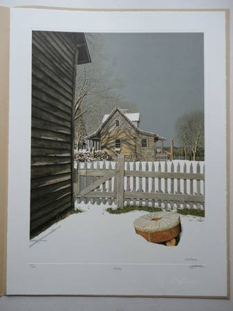 Photo BOB TIMBERLAKE - quotMIDDAYquot Signed  numbered Limited Edition Mint Cond - $300 (WALKERTOWN)