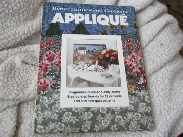 Photo Better Homes and Gardens Applique by Better Homes and Gardens Editors - $10 (Winston-Salem)