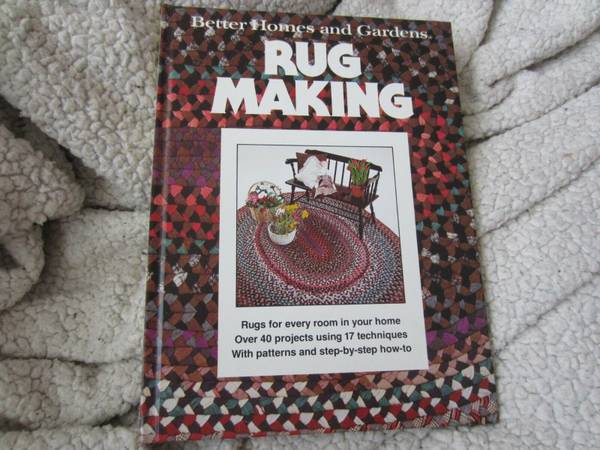 Photo Better Homes and Gardens Rug Making by Better Homes and Gardens Editor - $10 (Winston-Salem)